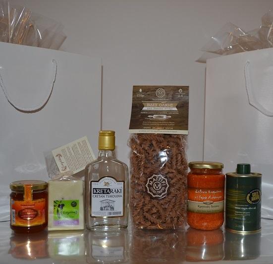 Κρητικά προϊόντα - Δώρα συνεδρίου