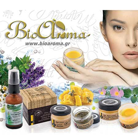 Bioaroma natural skin care cosmetics