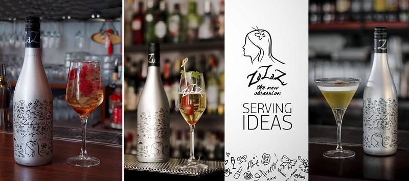 ZaZaZu White Sparkling Wine by Lyrarakis Wines