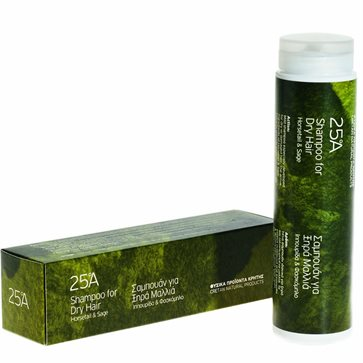 Shampoo for Dry Hair 25A - Horsetail & Sage