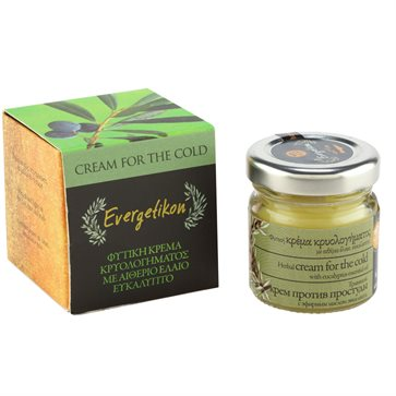 Cold Symptoms' Relief Cream with Eucalyptus Evergetikon