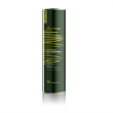 Charisma 0,75L can Cretan Extra Virgin Olive Oil