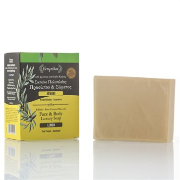 Natural Olive Oil Soap with Lemon Evergetikon