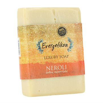 Natural Olive Oil Soap with Neroli Evergetikon