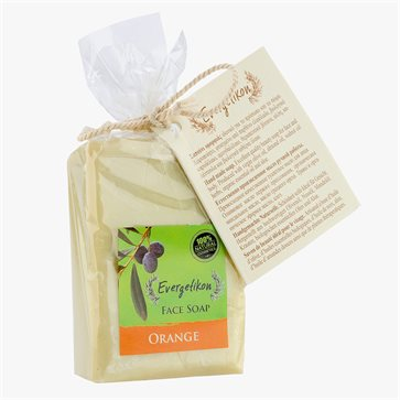 Natural Olive Oil Soap with Orange Evergetikon