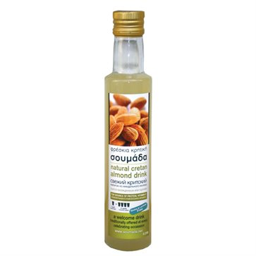 Soumada Cretan Traditional Fresh Almond Drink 250ml - Gialelakis