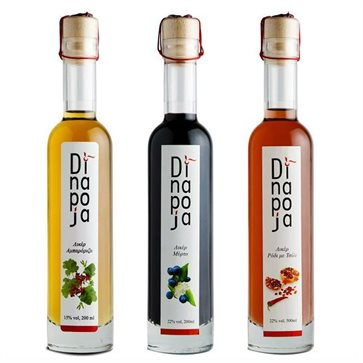 Dinapoja Liqueur set of 3