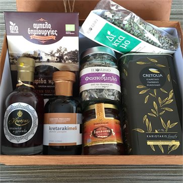 Cretan Gift Box with 7 Goodies