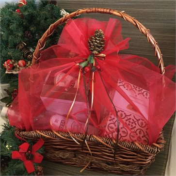 Christmas Gift Basket for Cretan Goods