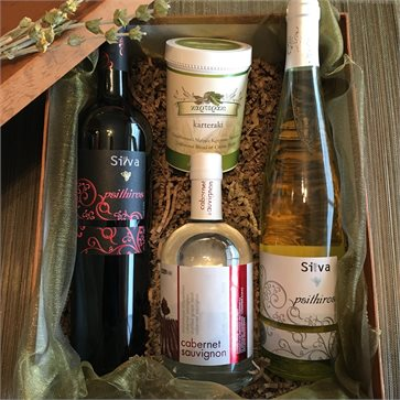 Cretan Wines Raki Tea in gift box