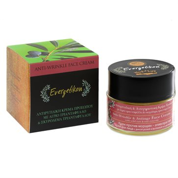 Natural Anti-Wrinkle Antiage Face Cream Evergetikon