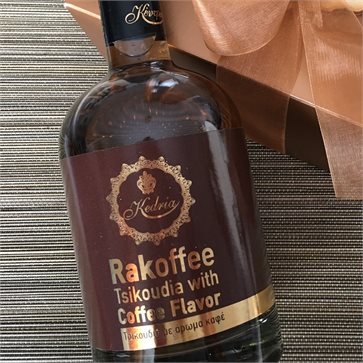 Racoffee Tsikoudia with Coffee 500ml KENDRIA Distillery