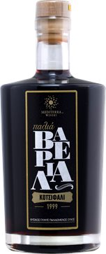 Palia Varelia (Old Barrels) Natural Sweet Wine 1999 by Mediterra 500ml
