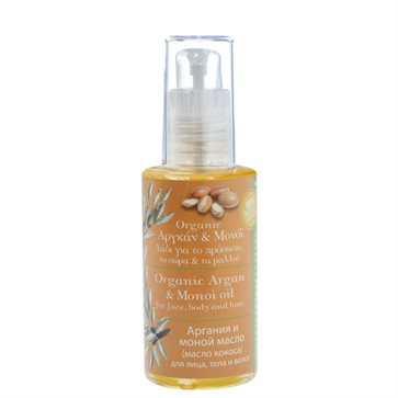 Argan & Monoi oil for face, Body Hair