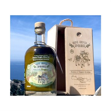 Olive Groves Spanakis Organic Extra Virgin Olive Oil