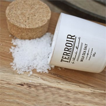Terroir Wild Sea Salt by Alexandra Manousakis