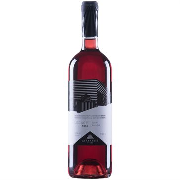 Legacy Rose Wine by Lyrarakis winery