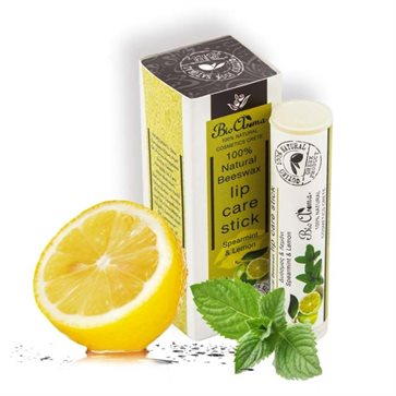 Lipstick with Beeswax and Fragrance Mint-Lemon Bioaroma