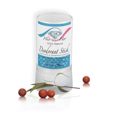 Natural Deodorant from Mineral Crystal Bioaroma