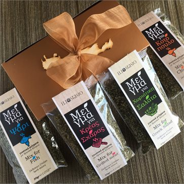Cretan Herbs Mixes Conference Gift Set
