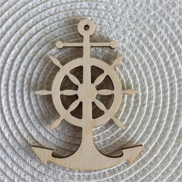 Anchor Wooden Decorative