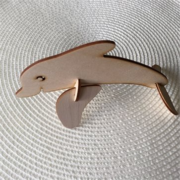Dolfin Wooden Decorative