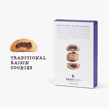 Traditional Raisin Cookies Dear Crete