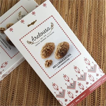 Melomakarona Aretousa - Greek Christmas Honey biscuits