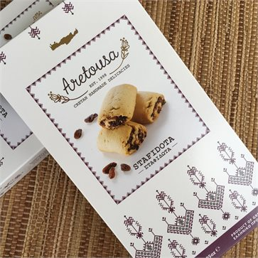 Stafidota Raisin Cookies by Aretousa Cretan Handmade Delicacies