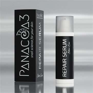 Snail Face Serum Panacea-3 Silver Line by Escargot de Crete