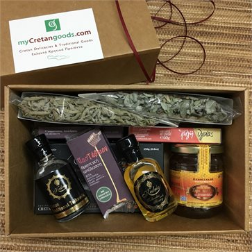 Cretan products - 9 delicious products in gift box