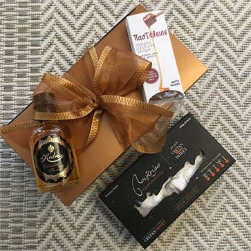 Congress gift - 3 Honey Cretan products in gift box