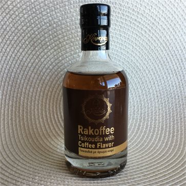 Rakoffee Tsikoudia with Coffee 200ml KEDRIA Distillery