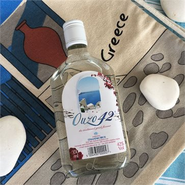 Ouzo 42 made in Crete 350ml STAMATAKI BROS