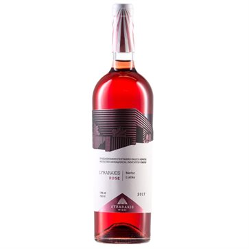 Lyrarakis Rose Wine by Lyrarakis winery