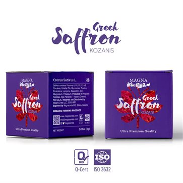 Organic Greek Saffron by Magna Creta