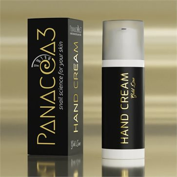 Snail Hand Cream Panacea-3 Gold Line by Escargot de Crete