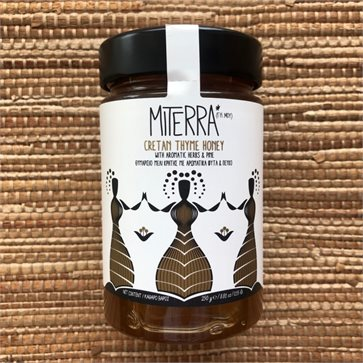 Miterra (My Earth) 250gr Cretan Thyme Herbs Pine Honey