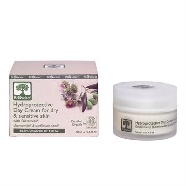 Bioselect Organic Hydroprotective Day Cream For Dry & Sensitive Skin