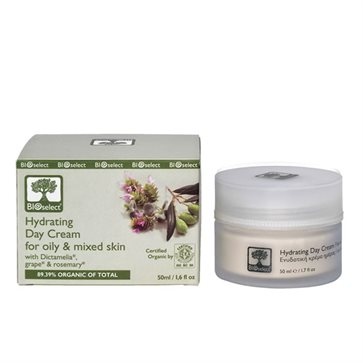 Bioselect Organic Hydrating Day Cream For Oily & Mixed Skin