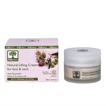 Bioselect Organic Natural Lifting Cream for face & neck