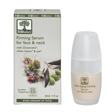Bioselect Organic Firming Serum for Face & Neck