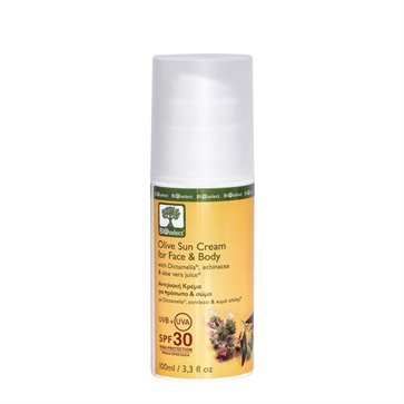 Bioselect Olive Sun Cream For Face & Body SPF30
