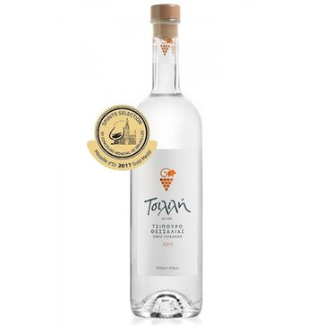 Traditional Greek Tsipouro Tsilili without Anise