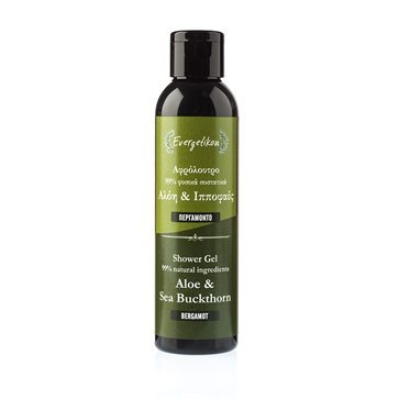 Natural Shower Gel Aloe & Sea Buckthorn Bergamot Evergetikon