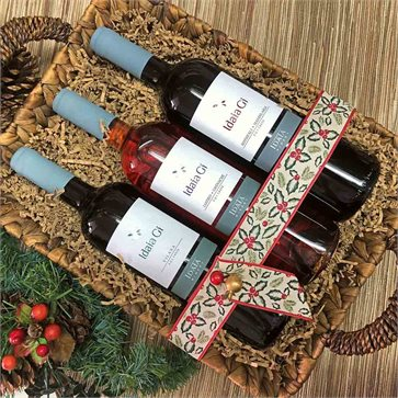Christmas Gift Basket Idaia Gi Wines