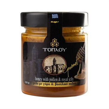 Honey Toplou Gourmet with Pollen & Royal jelly