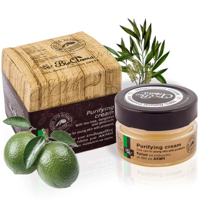 24hr Moisturizing Purifying Face Cream for Acne Bioaroma Buy
